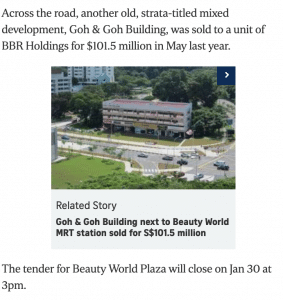 Beauty World Plaza launches collective sale 4
