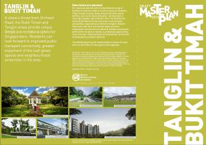 Cover page Bukit Timah Master Plan