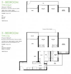 Daintree Residence Type C3a