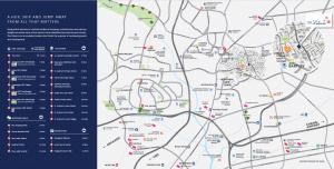 The Lilium Location Map