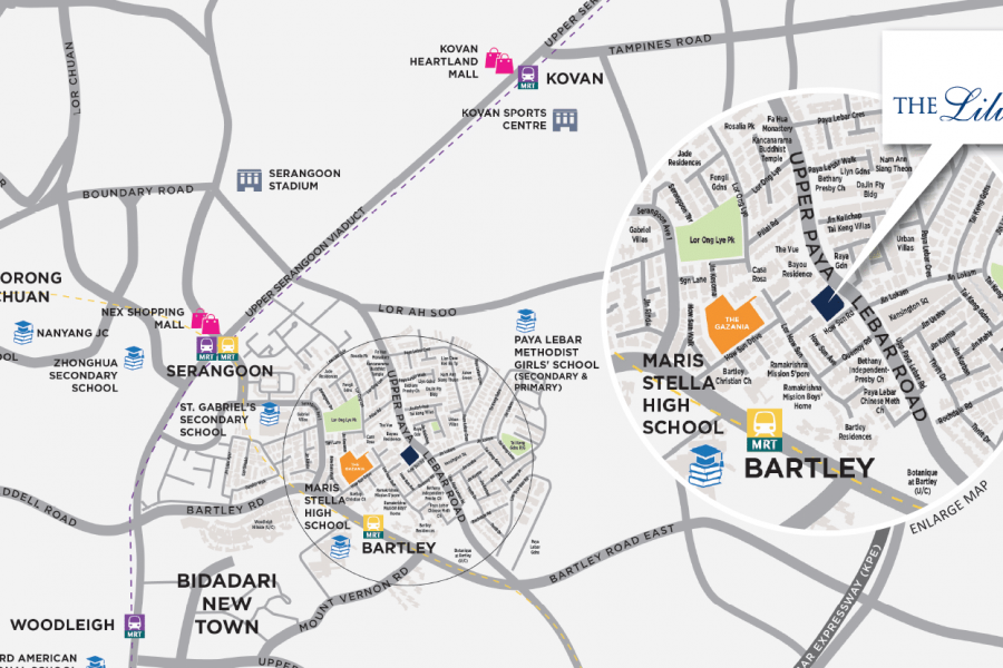 The Lilium Location Map Zoom